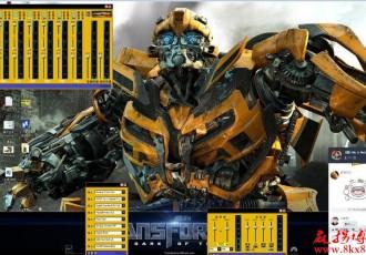 【皮肤】KX驱动3552版黄色变形金刚调音台皮肤(含主题)