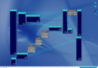 创新声卡5.1 7.1唱歌机架连线图KX3552效果