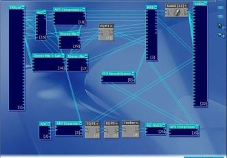 创新7.1声卡window7自动跟唱效果KX3552连线图