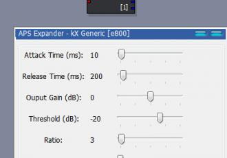KX驱动基础入门插件---降噪插件详解
